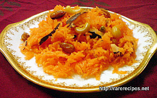 Sweet Rice with Dry Fruits